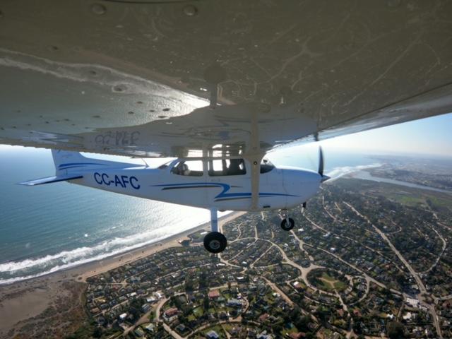 Avión CC-AFC Vista de GOPRO