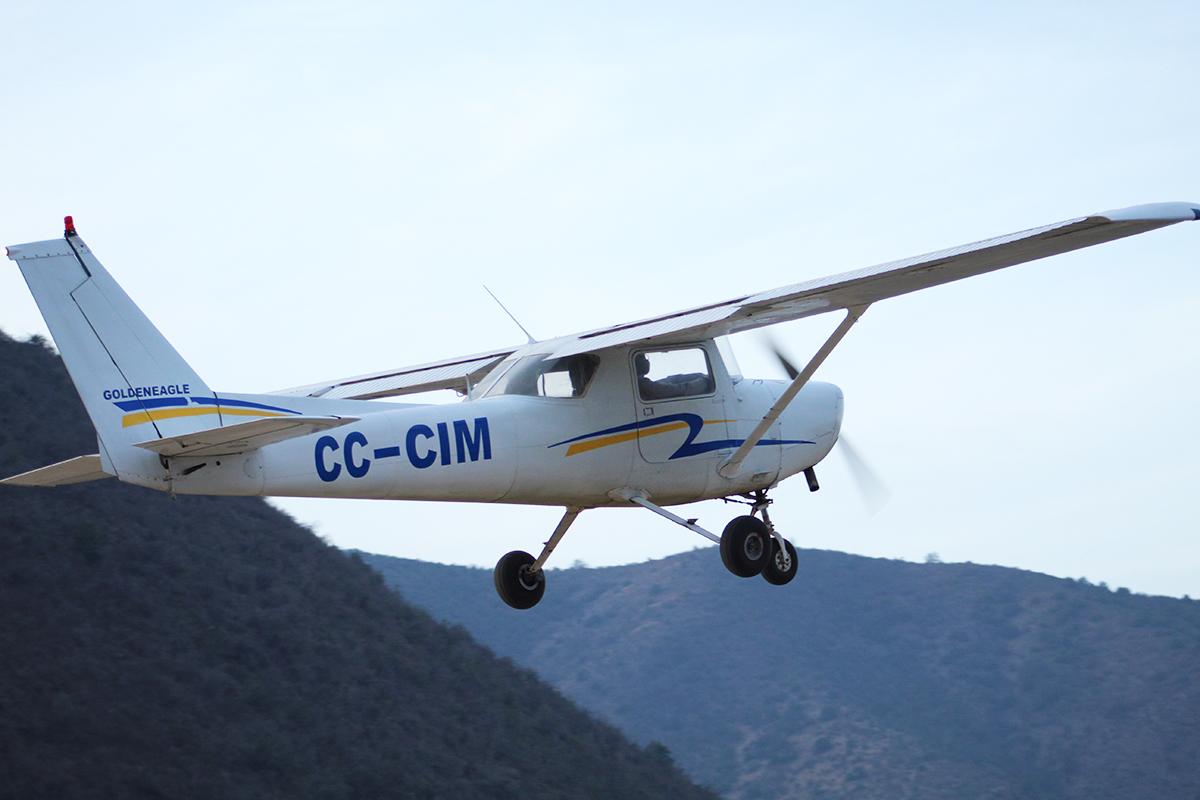 Avión Golden Eagle - CC-CIM