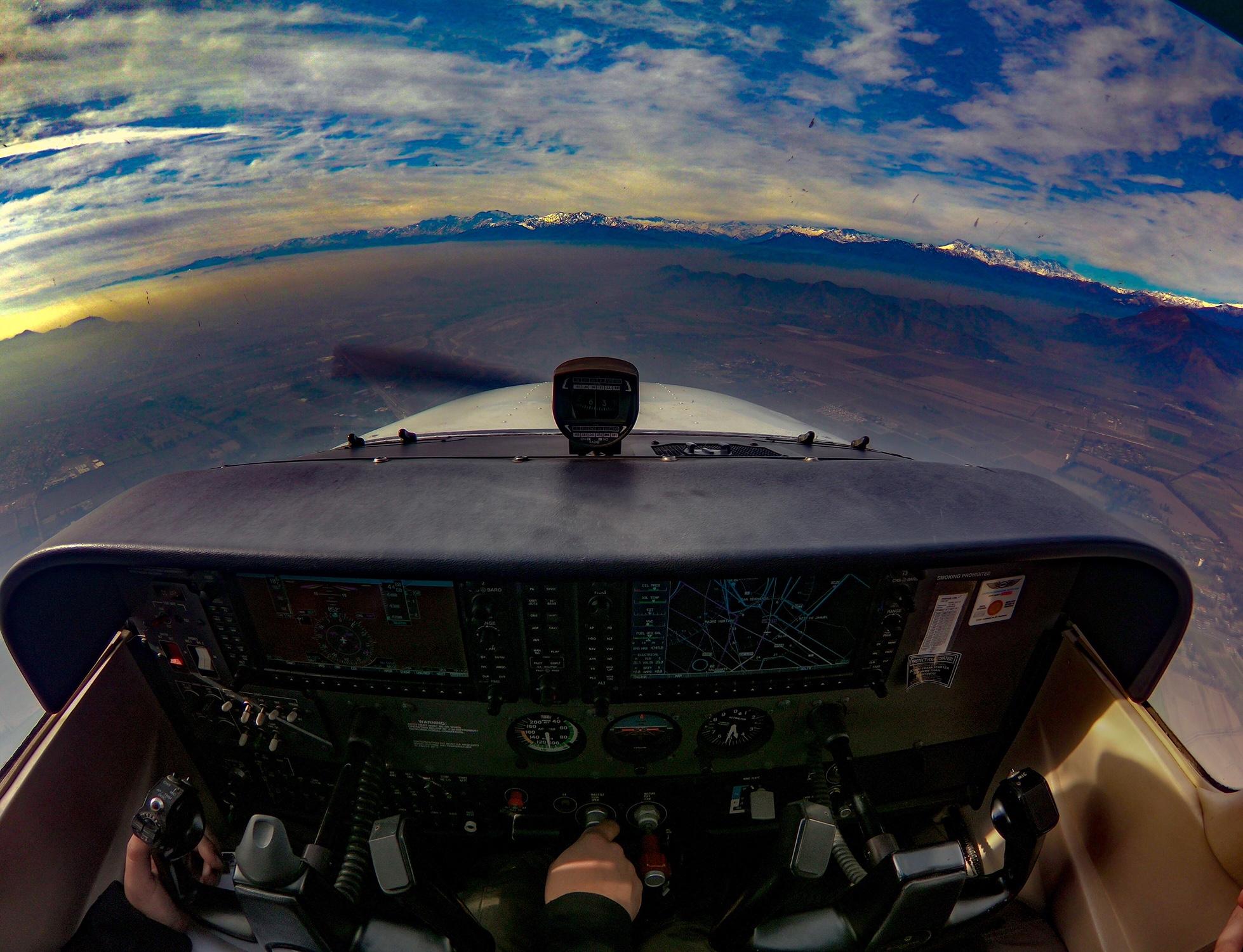 Vista de vuelo