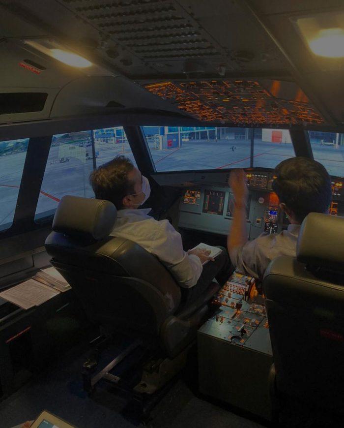 Centro de simulación Flight Deck Training.